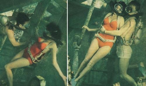 russell underwater