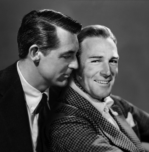 Randolph Scott Son Randolph Scott And Cary Grant