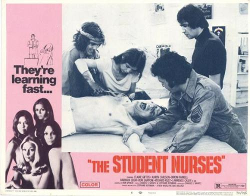 the student nurses - lobby card