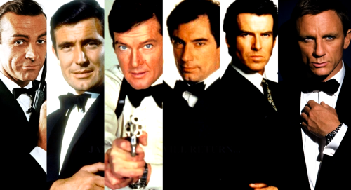 Every-James-Bond-Ever