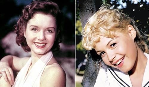 The '50s:  Debbie Reynolds, Sandra Dee