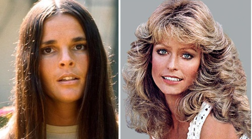 The '70s: Ali McGraw, Farrah Fawcett
