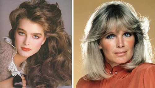 The '80s: Brooke Shields and Linda Evans