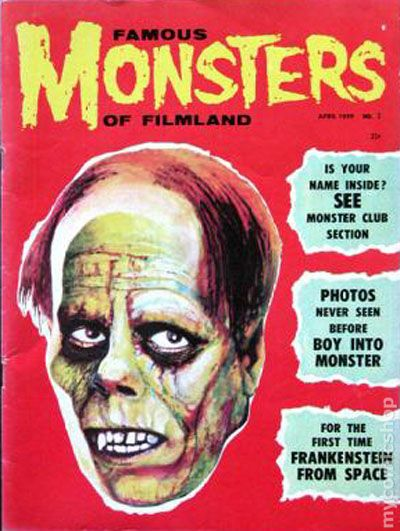 Famous Monsters of Filmland Magazine, 1958.