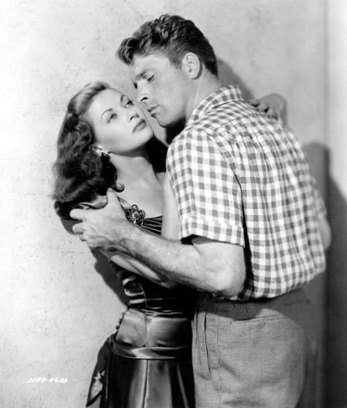 "With Tony Lancaster in ""Criss Cross"" (1949)"