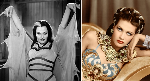 Yvonne De Carlo as Lily Munster and Salome