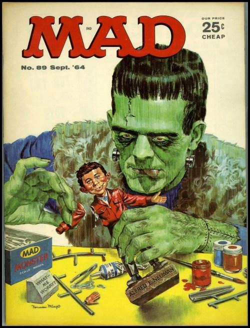 Mad Magazine, Sept. 64. At the height of the monster craze.