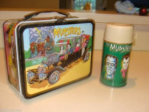 Munsters lunchbox features the Munster Koach.