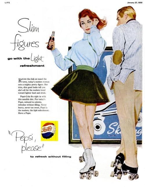 Pepsi ad, 1958.