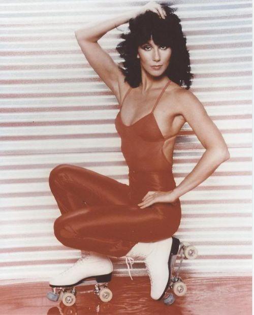 Roller disco diva Cher.