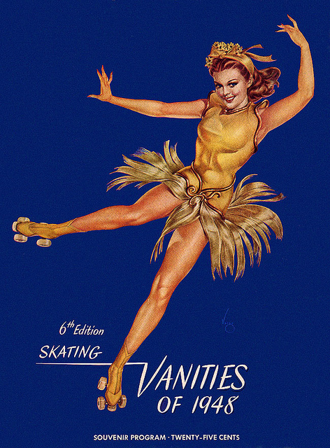 The Skating Vanities of 1948 poster
